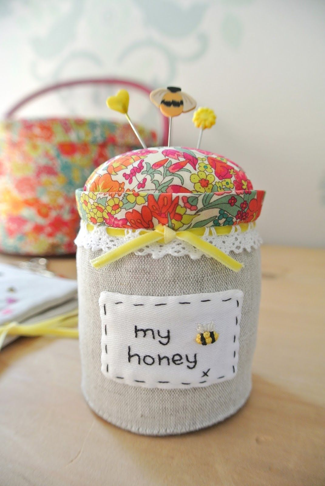 Bees and a Honey Pot .....