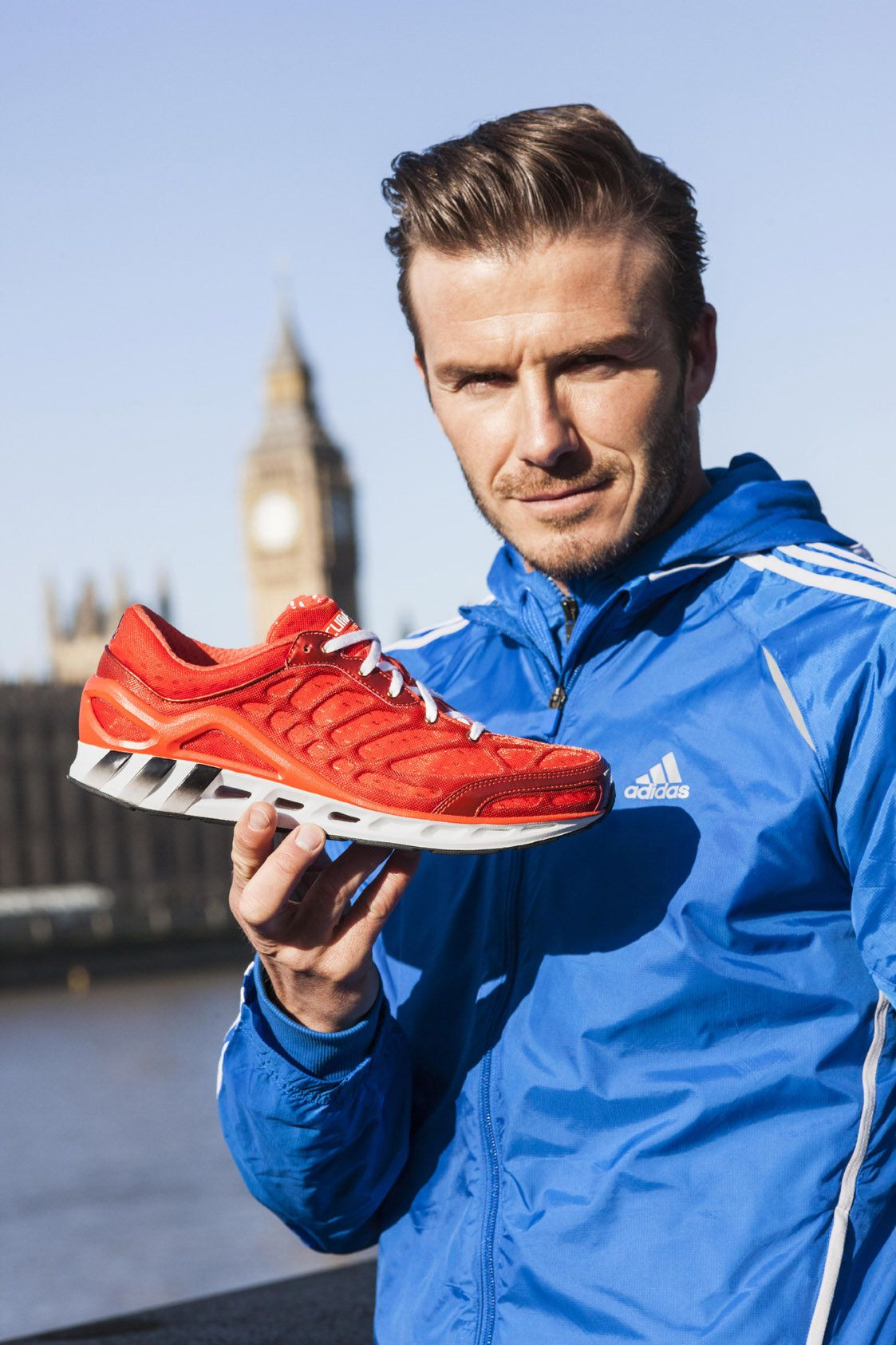 David Beckham, a supporter of Adidas, substituted his shoes made using  kangaroo skin for