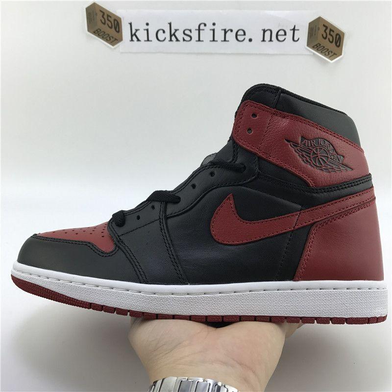Air Jordan 1 Og High Banned 555088 007 From Kicksfire Net Air