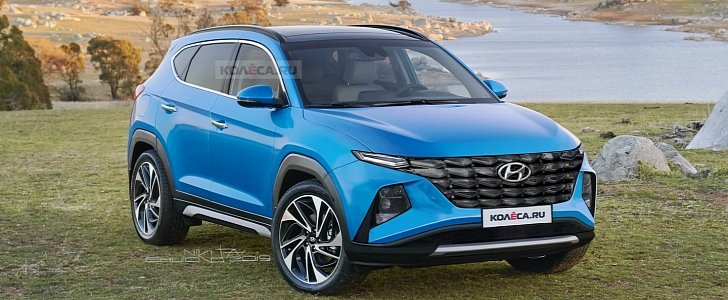 2021 Hyundai Tucson Will Look Like This Blow The Other Cuvs Away