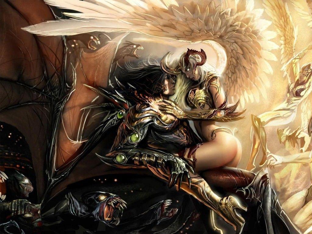 angel y demonio enamorados frases - Buscar con Google | WARRIOR'S ...