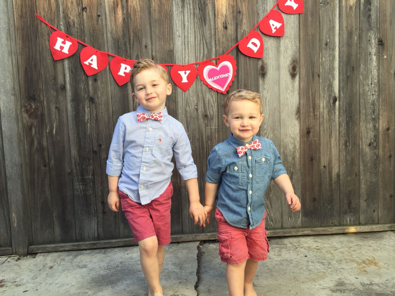Valentines toddler preschool matching boys outfits  Toddler