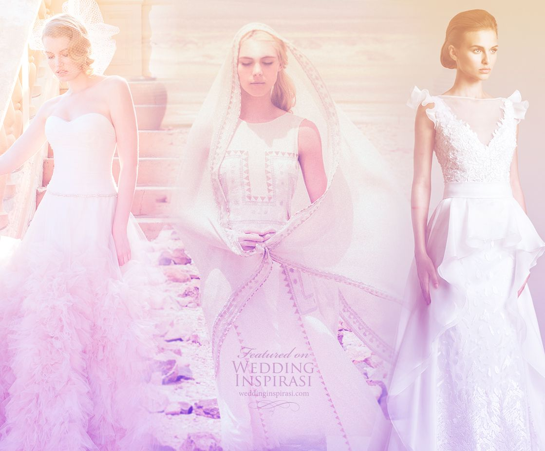 Don't miss these collections featured on Wedding Inspirasi this ...