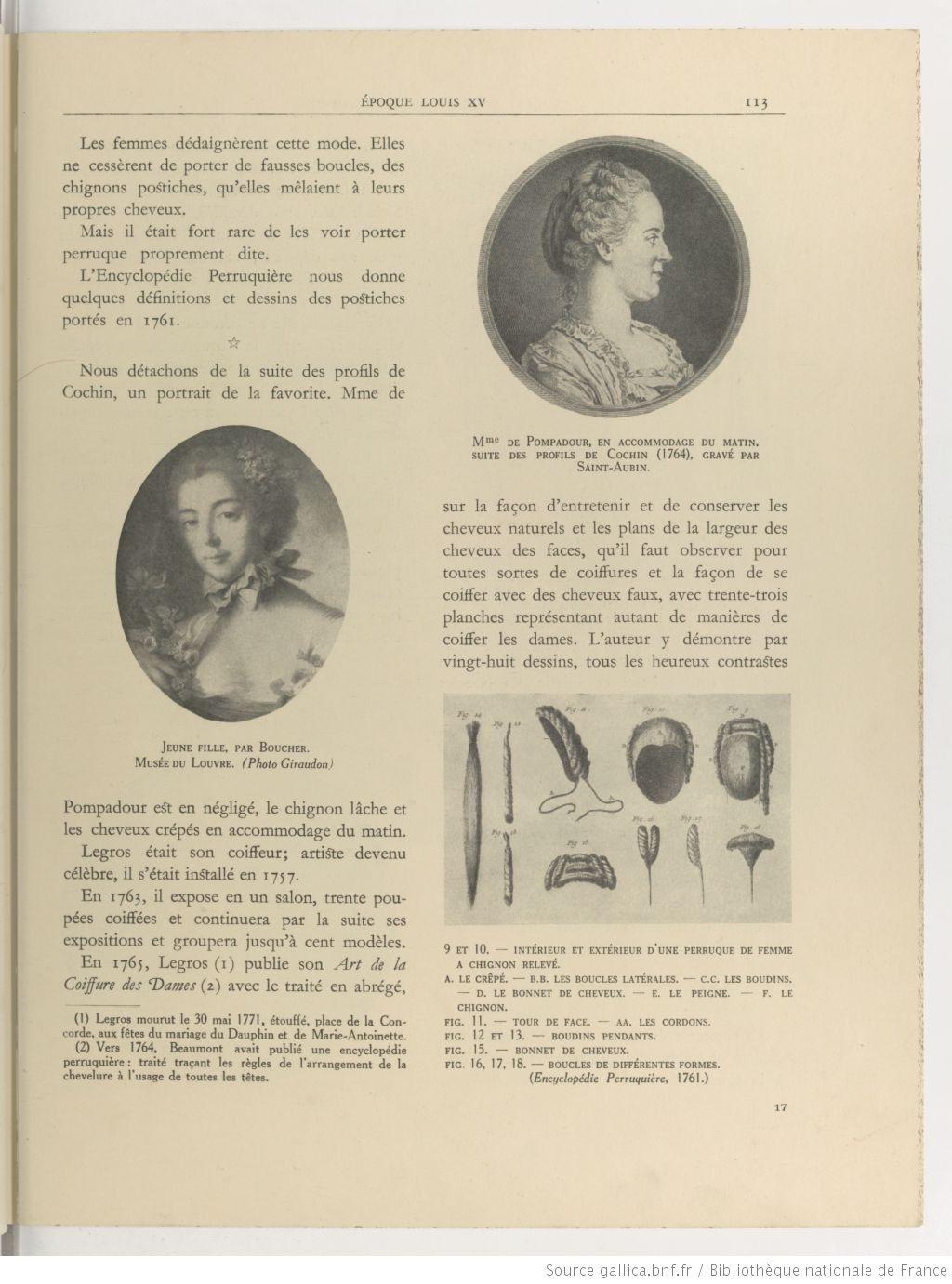 L Art De La Coiffure Feminine Son Histoire A Travers Les Siecles Par Stephane Preface De Rene Rambaud Gallica Coiffures Feminines Postiche Art