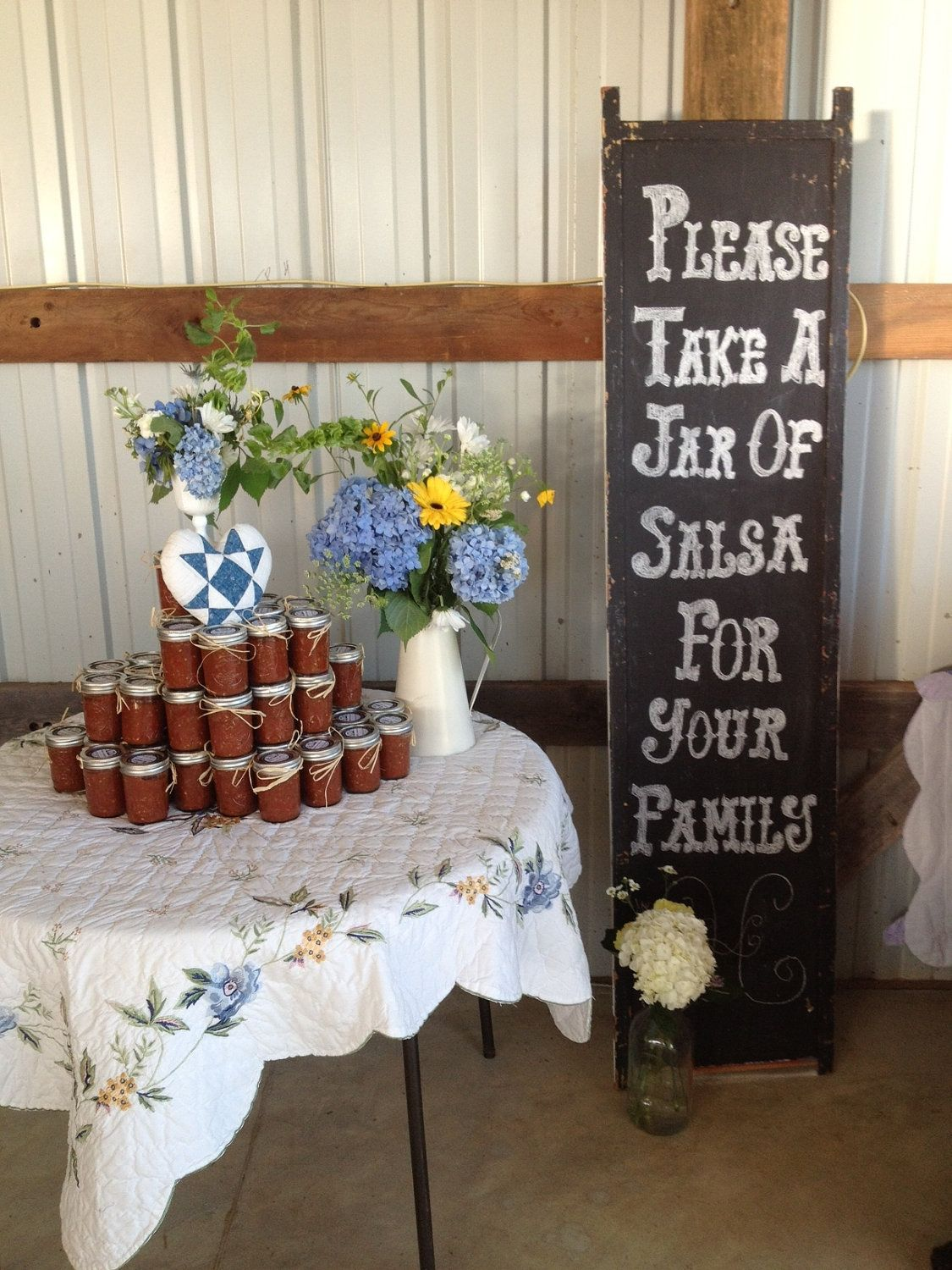 Salsa wedding favors by countyroadcanning on etsy wedding favor