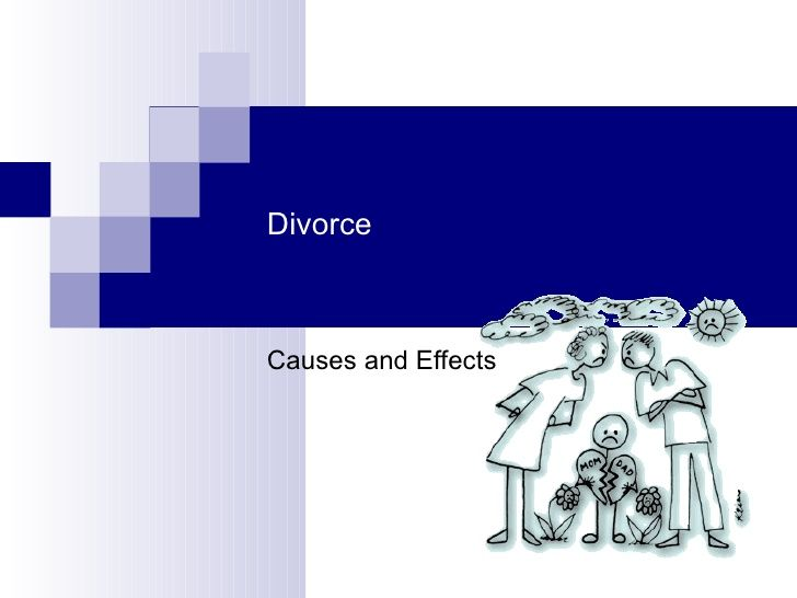 Cause And Effect Of Divorce Essay Paragraph