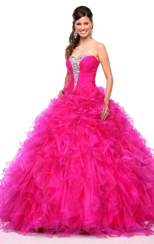 Hot Pink Sweet 16 Dresses