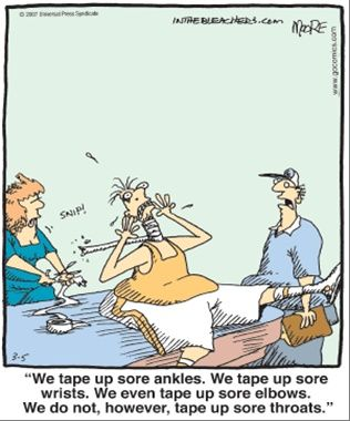 Athletic training humor :) | Laughter is the Best Medicine ...