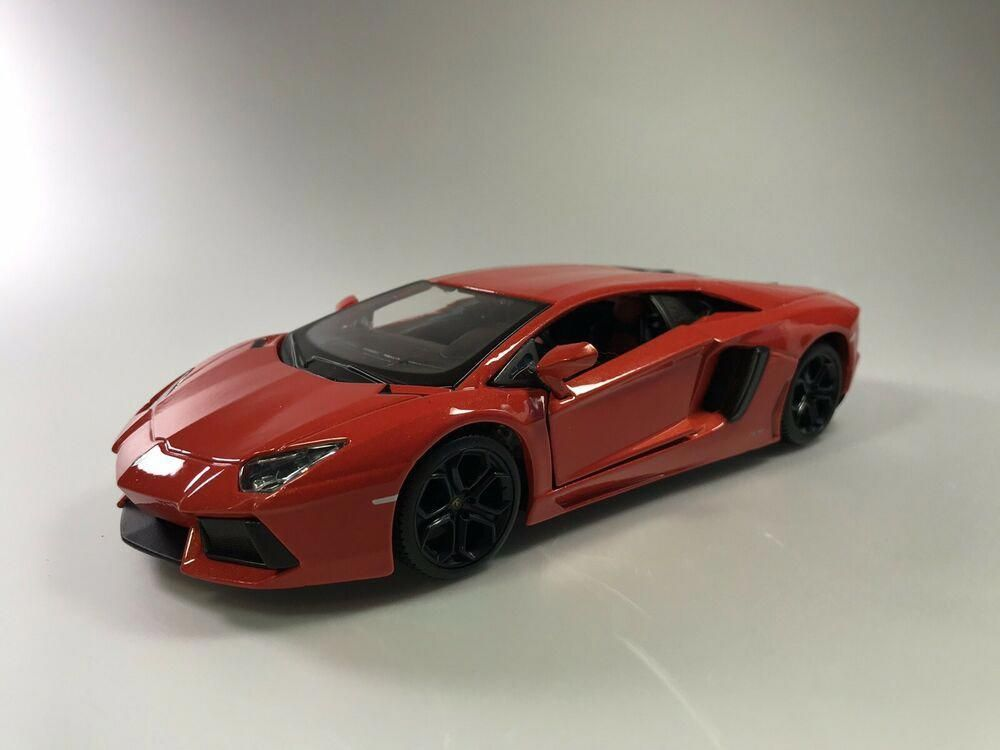 New Lamborghini Aventador Limited Edition 1 24 Diecast Model Car By Maisto New Ebay Luxurycars In 2020 Sports Cars Luxury