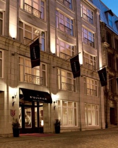 Le Saint Sulpice Montreal Canada This Lovely All Suite Hotel Is In The Shadow Of S Historic Notre Dame Basilica