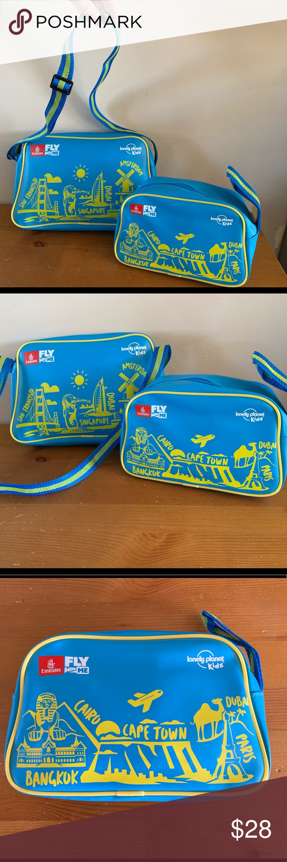 Emirates Airline Kids Fly With Me Travel Bag Set Emirates