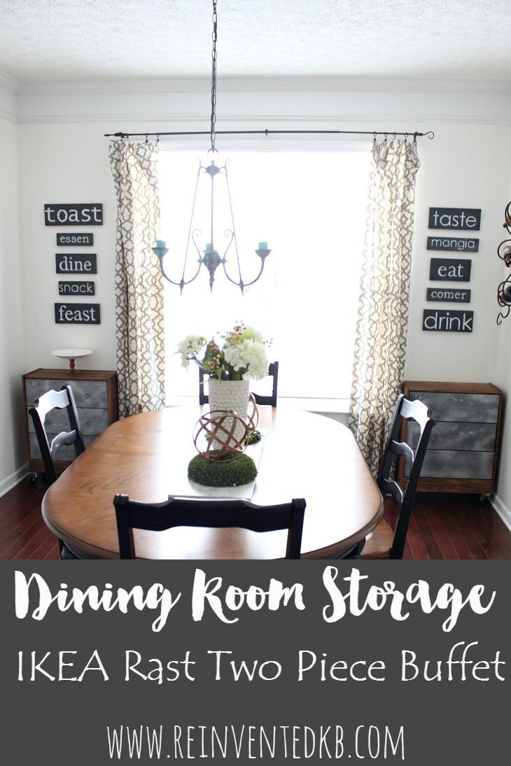 Dining Room Storage Introducing The Two Piece Buffet