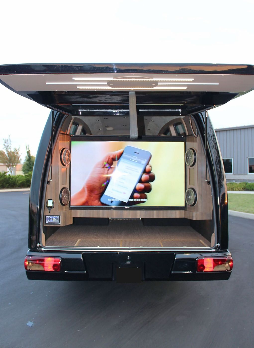 Custom tailgating mauck sprinter van tailgating pinterest