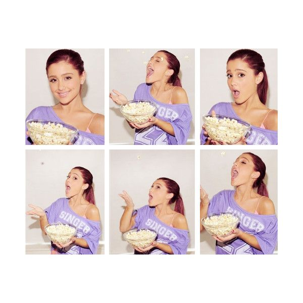 we're all just so imperfectly perfect ❤ liked on Polyvore featuring pictures, ariana grande, purple, celebrities and purple pictures