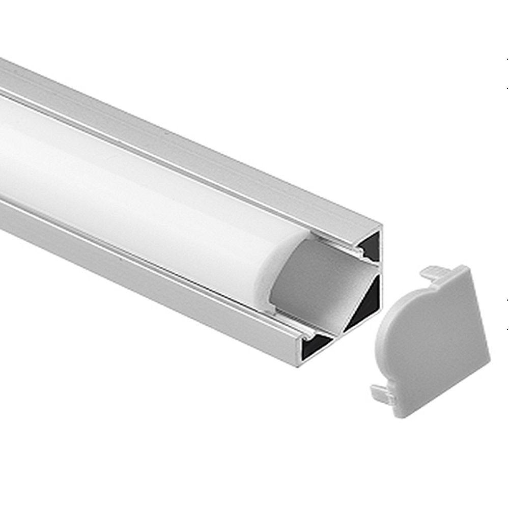 1050 meterspack 1m per piece led aluminum profile slim