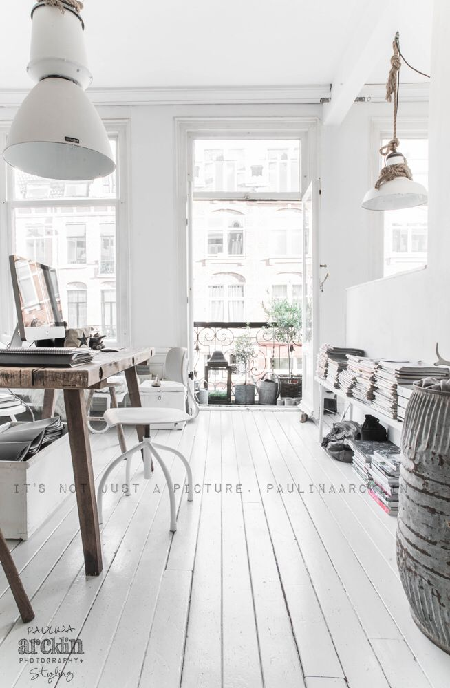 Rustic Office Space