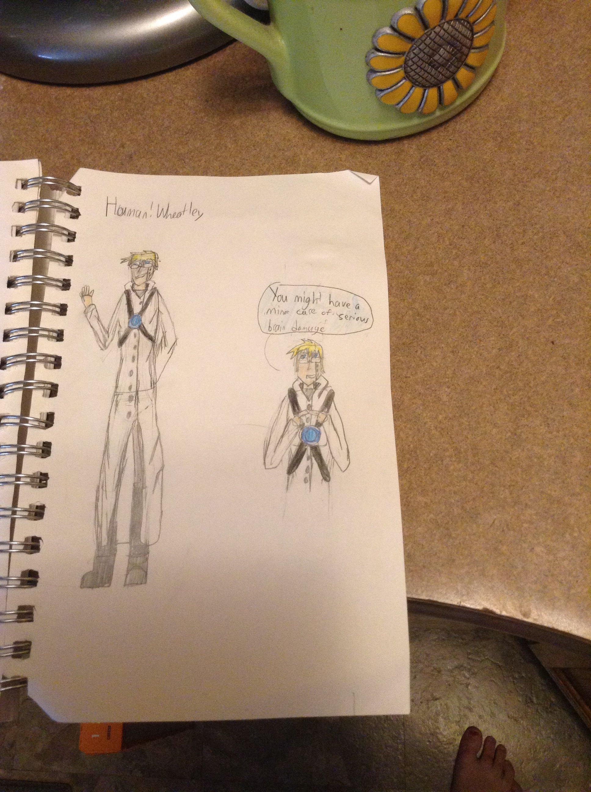 Here Is My Design For A Human Wheatley Wheatley Human