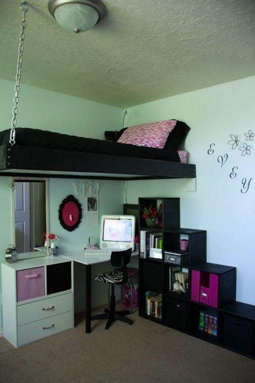 Cuarto infantil con poco espacio cuarto de los ni os - Decoracion de dormitorios juveniles pequenos ...