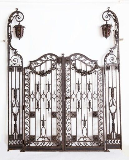 pin von charles ward auf cemetery fence and gate pinterest. Black Bedroom Furniture Sets. Home Design Ideas