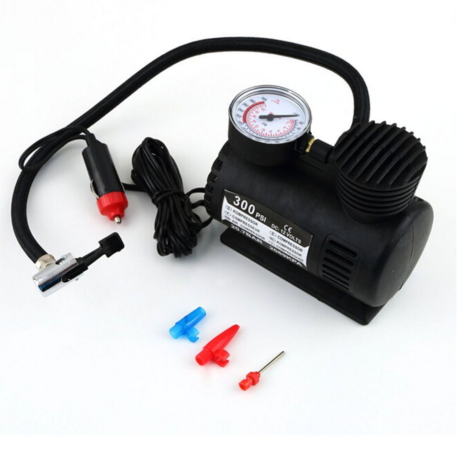 Portable Mini Auto Car Electric Air Compressor Tire