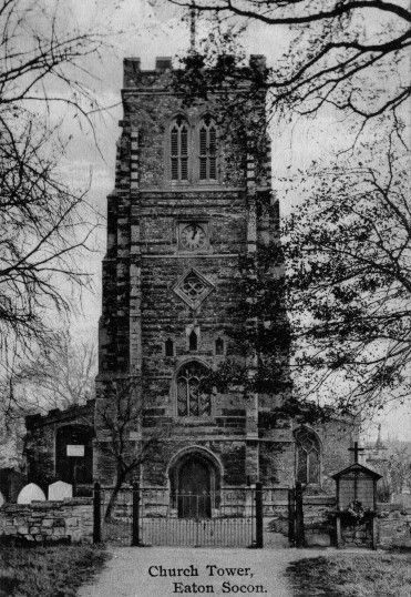 Eaton Socon St Mary S Church Before The Fire In 1930 Eaton Socon Eaton British Family