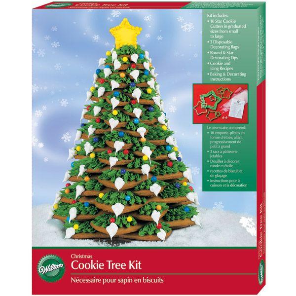 Christmas Cookie Tree Kit Fruit Christmas Tree Christmas Tree Cookies Christmas Tree Crafts