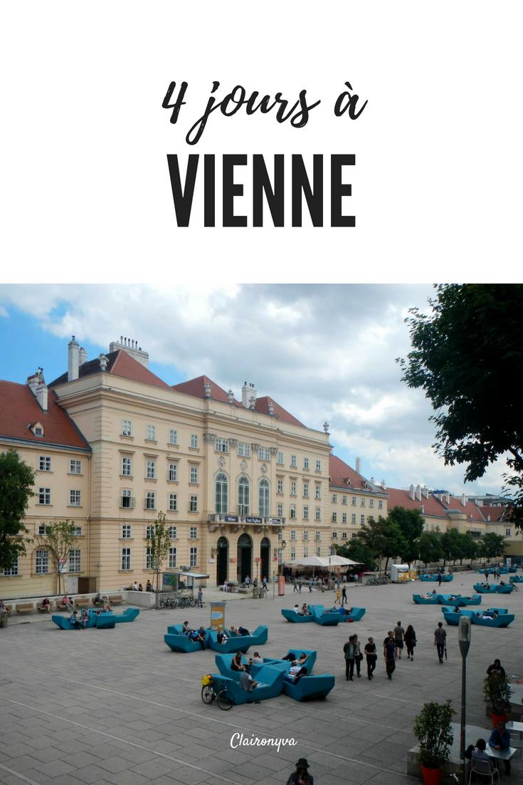 C Est Parti Pour Un Grand Week End De 4 Jours A Vienne A L Occasion De Mes 30 Ans Une Ville Qui Allie Bien Les Batimen Vienne Visiter Vienne Voyage En Ville