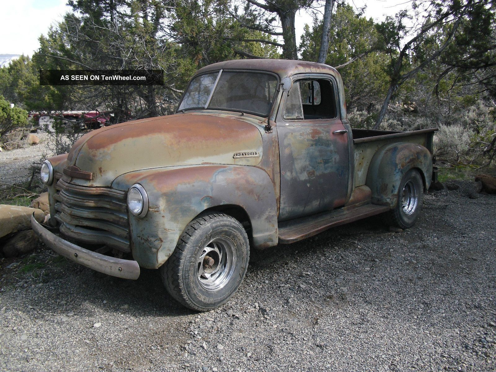 Chevrolet 1 Ton Truck | 1950 Chevy 1 / 2 Ton Truck Rat Rod Patina ...