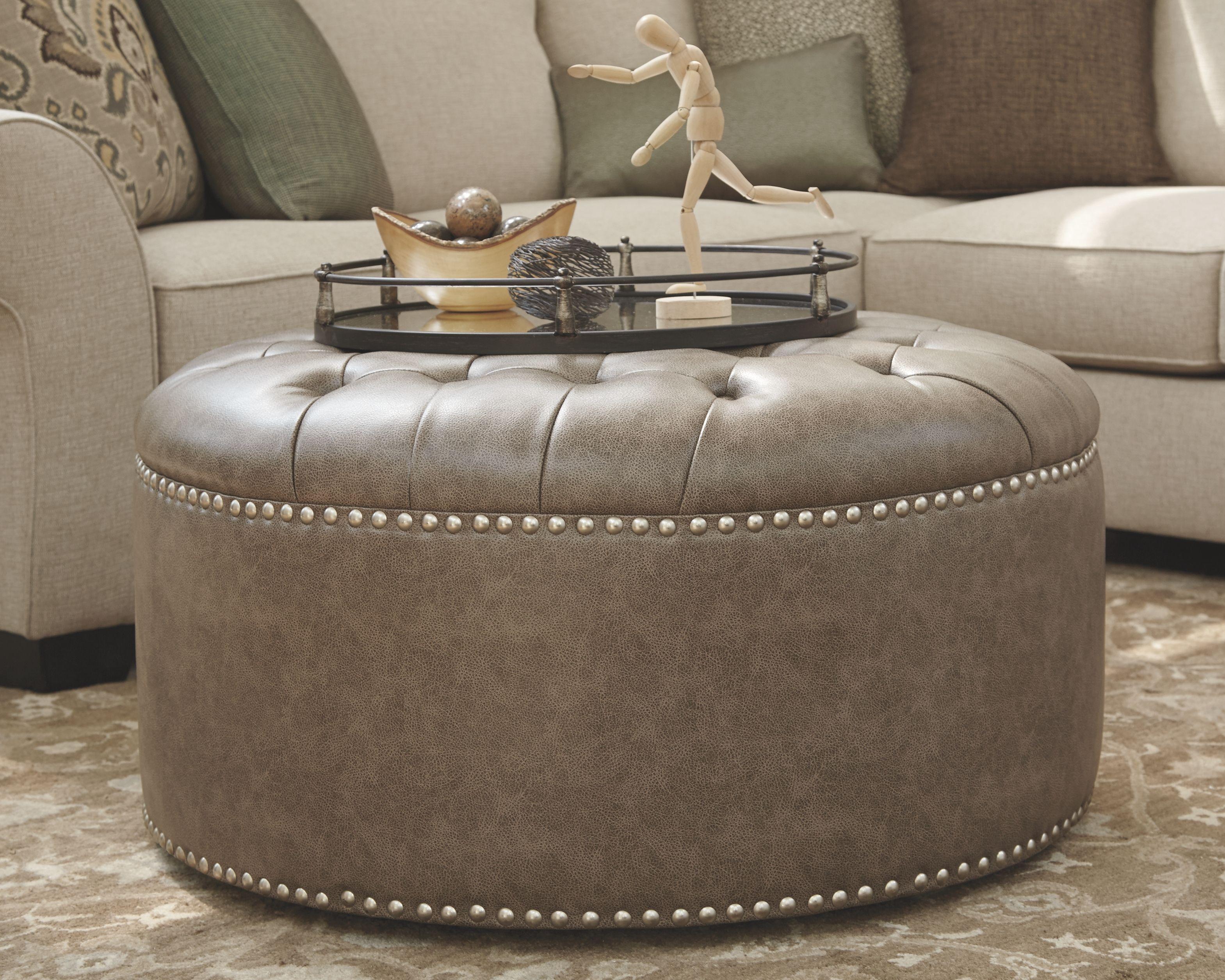 Wilcot Oversized Ottoman Ashley Furniture Homestore In 2021 Round Leather Ottoman Shoe Storage Ottoman Oversized Ottoman [ 2510 x 3138 Pixel ]