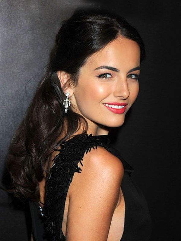 Camilla Belle - Sexy Half up - Half down Updos For Medium Length Hair