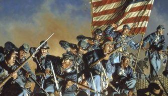 The 54th Massachusetts Infantry American Civil War History Com Civil War Heroes Civil War Art Civil War