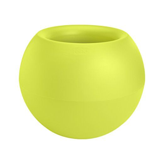 elho Pure Blumentopf, 60 cm, Lime grün - pflanzkübel selber machen - garten blumen gestaltung