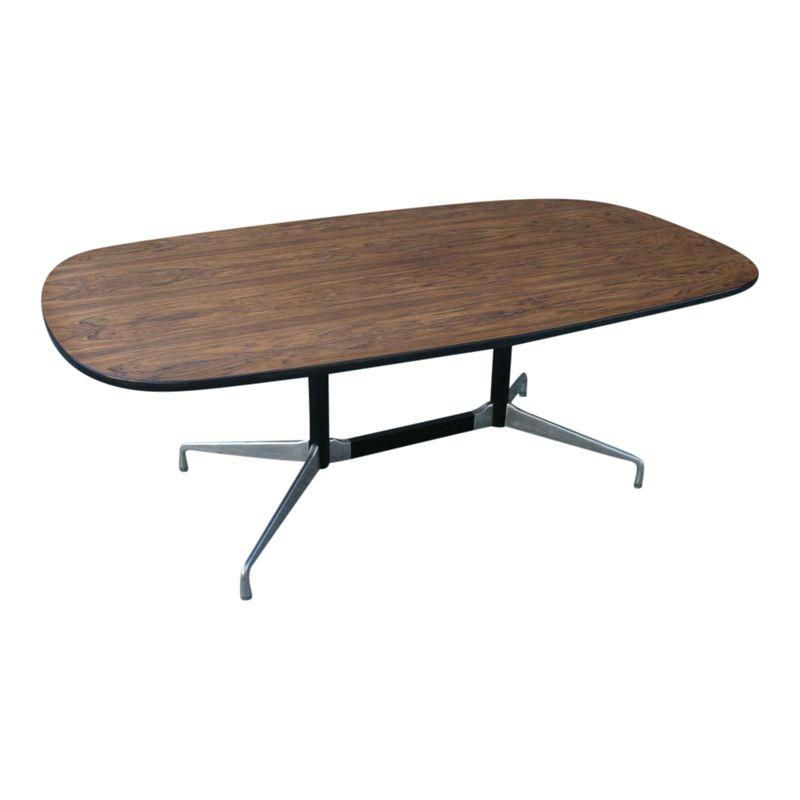 Eames aluminum group table modern dining room tables