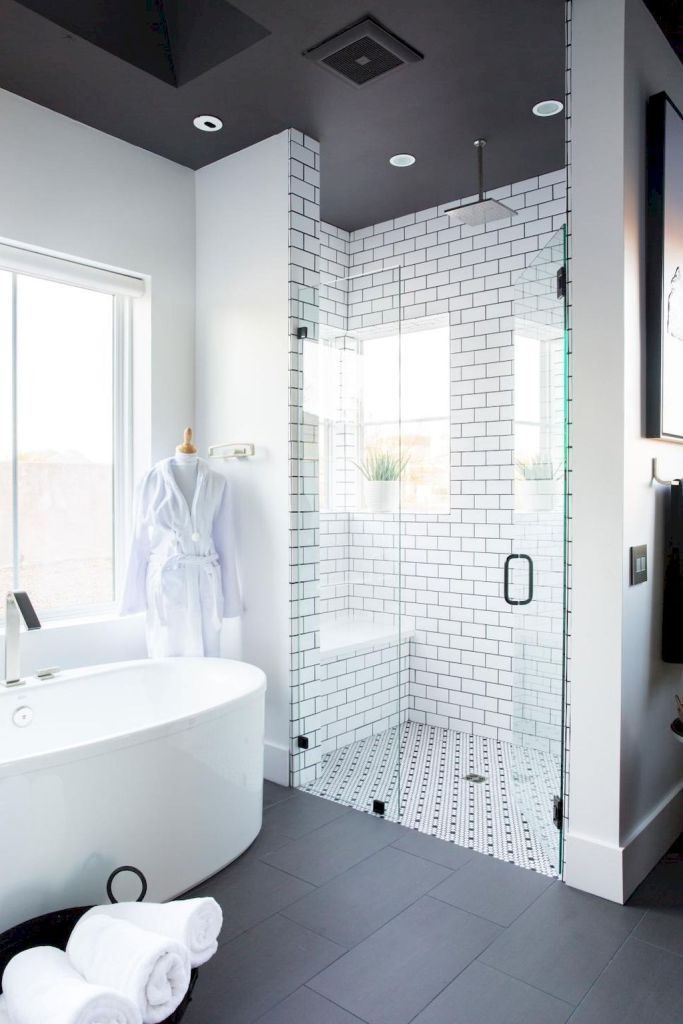 Wonderful These Tiny Home Bathroom Designs Will Inspire You | Painted Shelving, Small  Tiles And Rustic Colors Gallery