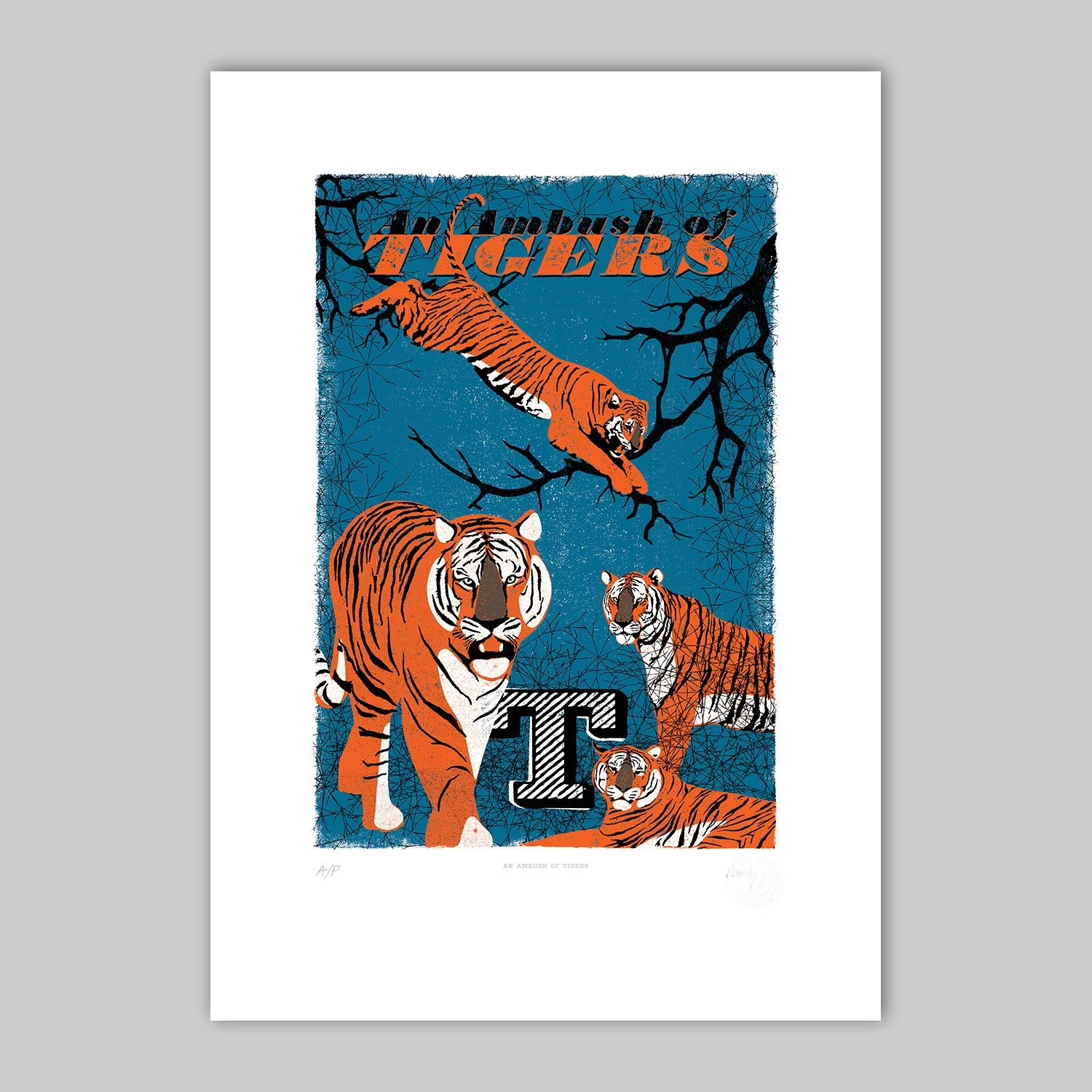 MinaLima An Ambush of Tigers Collective nouns, Animal