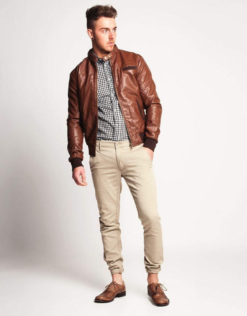 Collection Brown Jacket For Mens Pictures - Reikian
