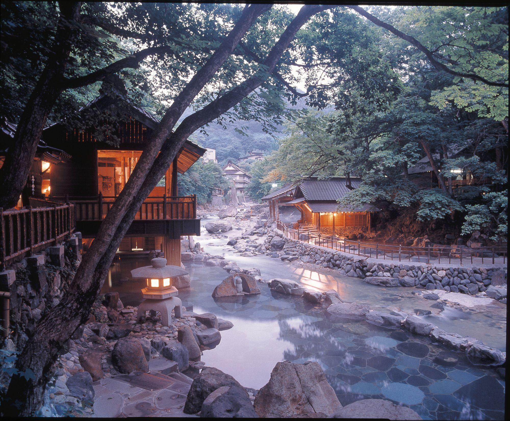takaragawa onsen minakami city in gunma prefecture travel rh pinterest com