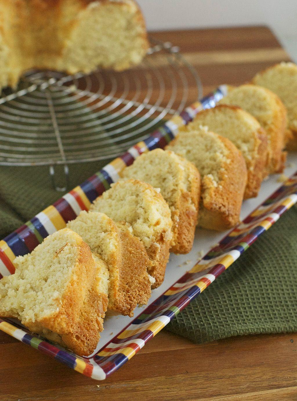 Gluten Free Sour Cream Pound Cake Recipe Sour Cream Pound Cake Pound Cake Recipes Sour Cream
