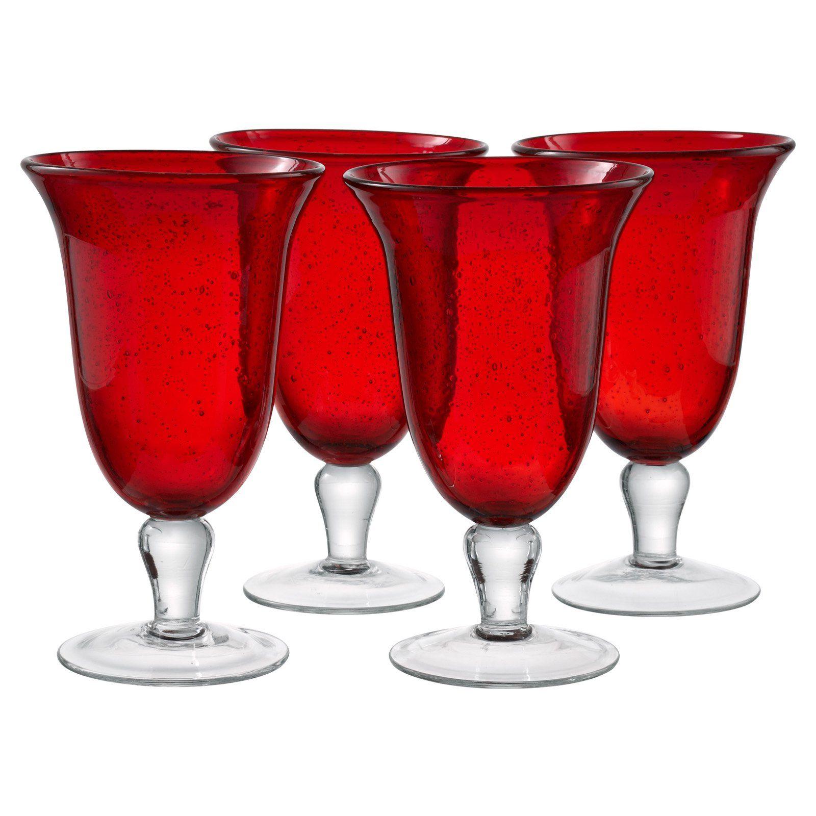 Artland Inc Iris Ice Tea Glasses Set Of 4 Walmart Com In 2020 Glass Set Iced Tea Glasses Tea Glasses