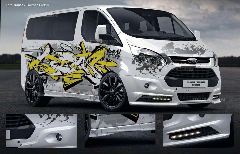 Ford Transit Custom Frontstange Heck Stossstange Seitenschweller In 2020 Ford Transit Custom Ford Volkswagen Touran