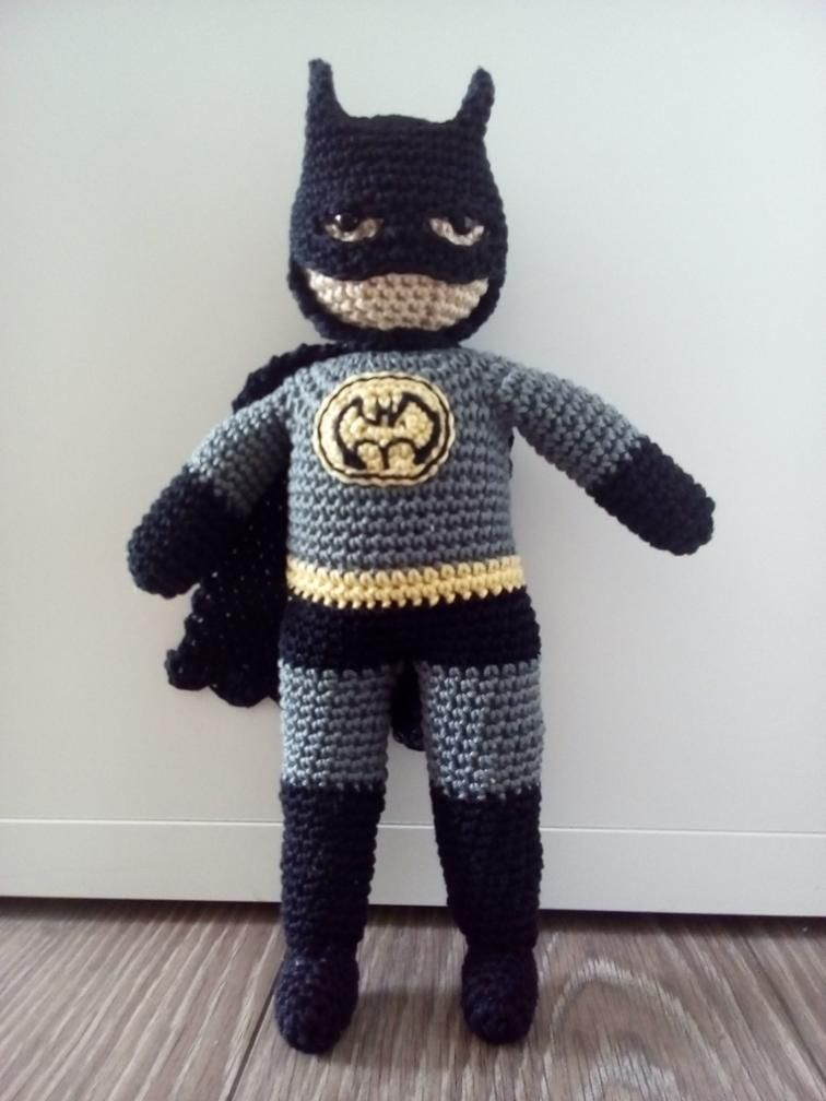 BATMAN Amigurumi - free crochet pattern by Polligurumi on Craftsy ...