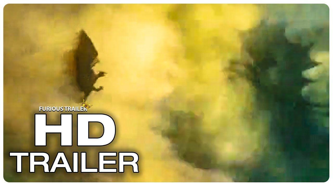 Godzilla 2 Trailer 3 Rodan Vs King Ghidorah New 2019 Godzilla