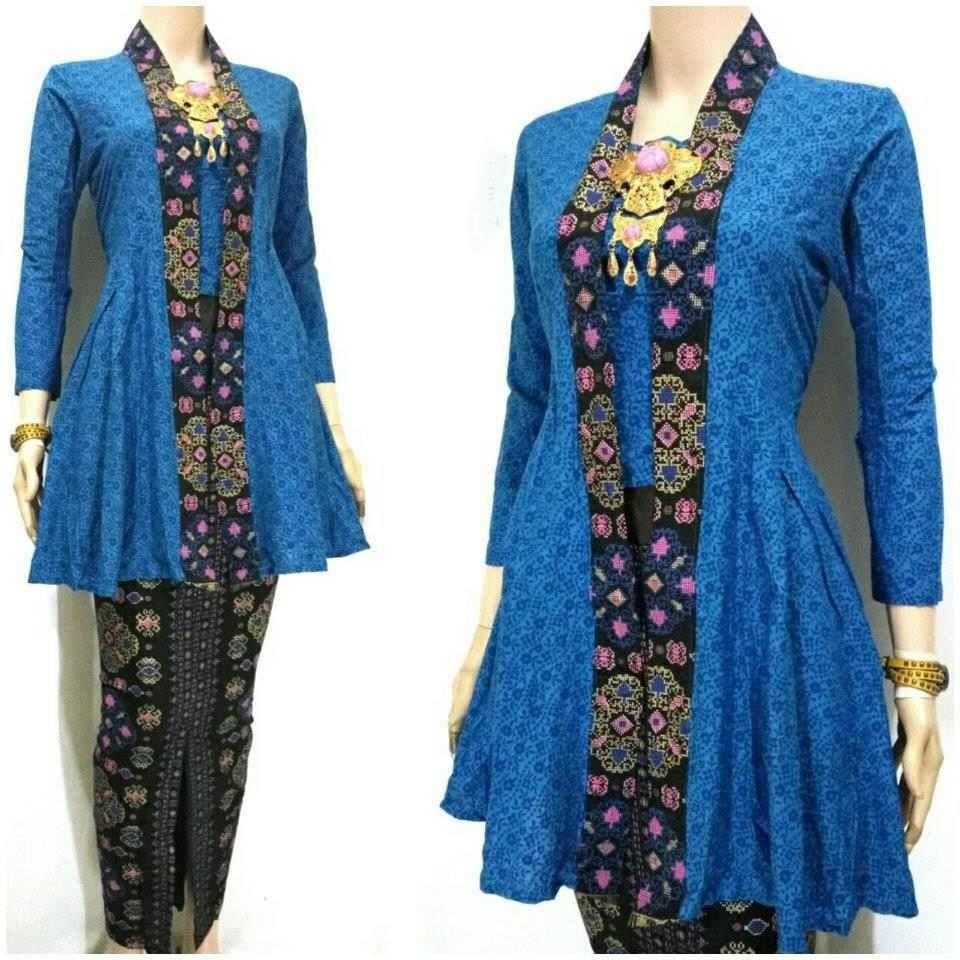 Model Batik Kerja Remaja Modern: Model Baju Batik Kutu Baru Modern Terbaru