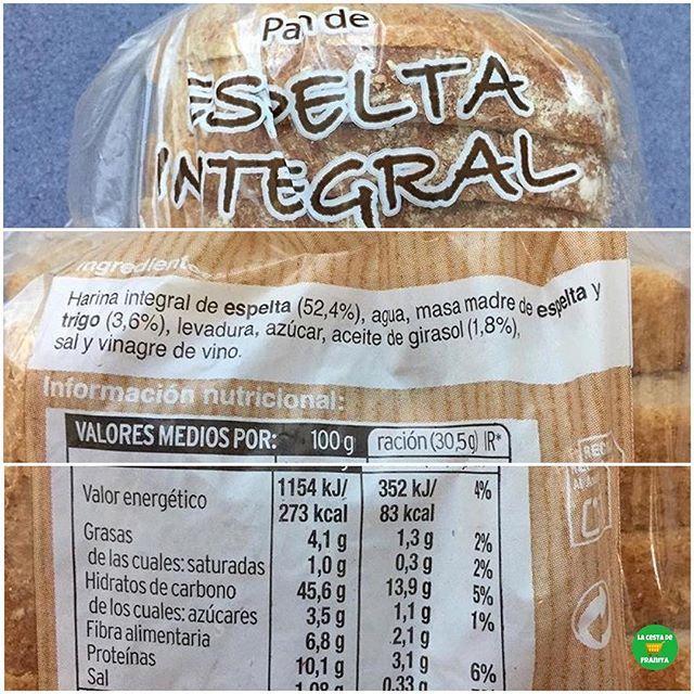 Pan De Espelta Hacendado Supermercado Mercadona