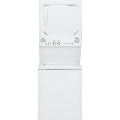Ge Spacemaker Washer And Electric Dryer In White Gud27essjww The