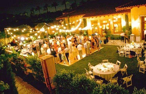 How to plan a wedding on a budget! | Backyard wedding ceremony