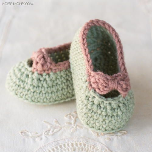 Little Lady Baby Crochet Booties | Baby Crochet - Booties, slippers ...