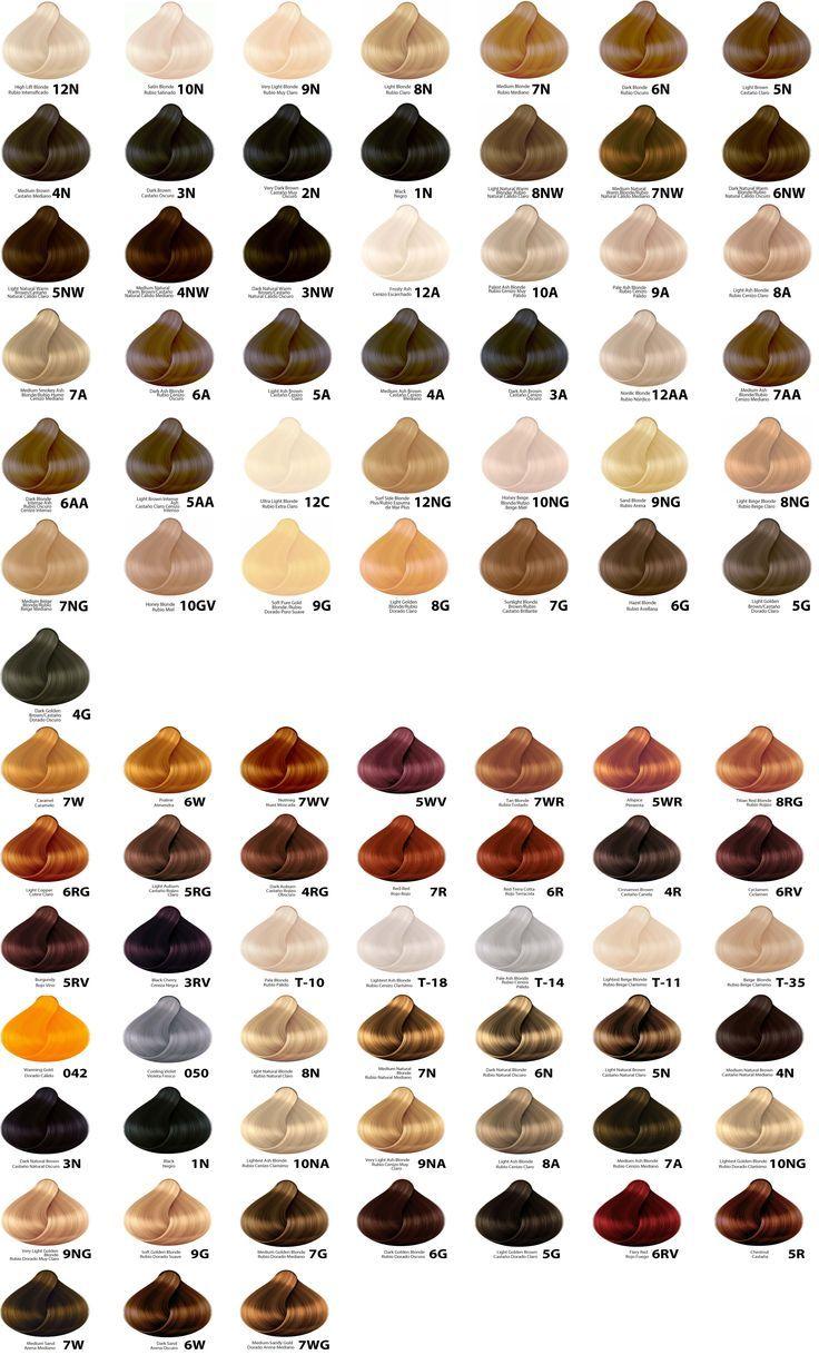 Resultado De Imagen De Wella Color Chart Hair Color Pinterest
