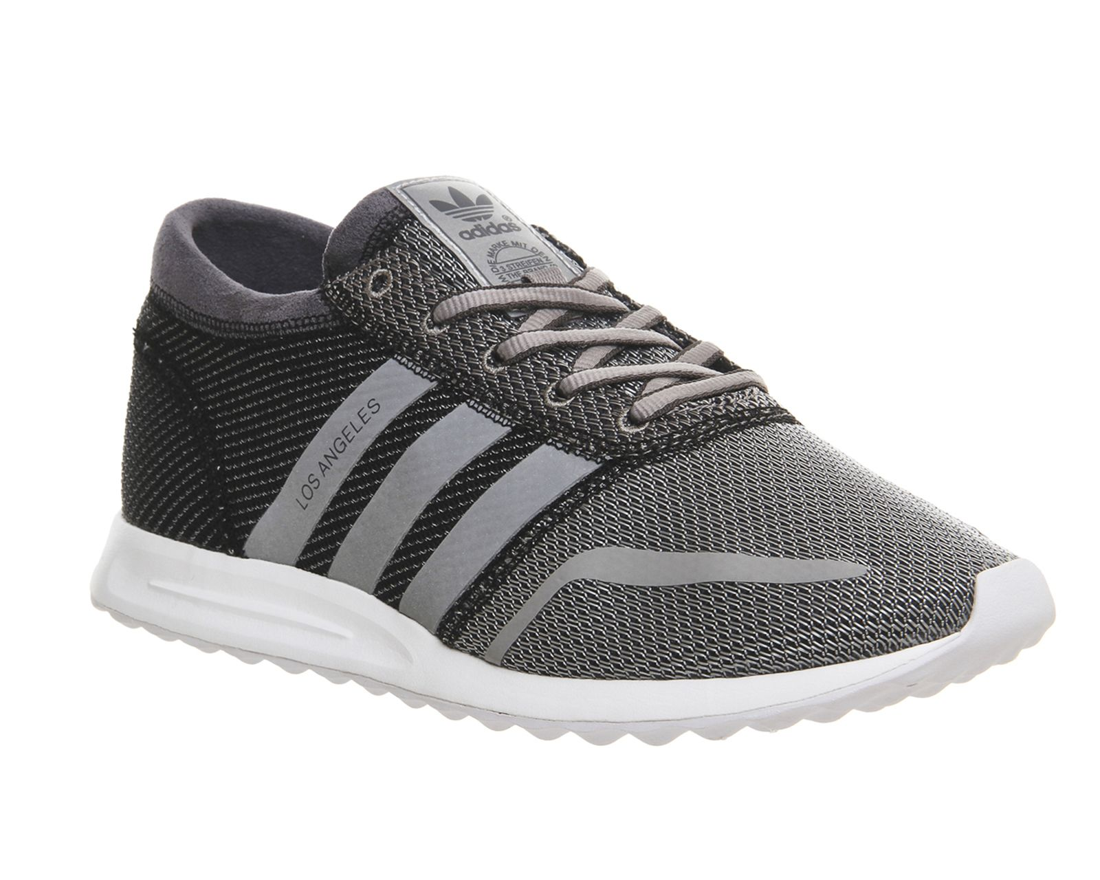 Buy Grey White Reflective Adidas Los Angeles from OFFICEcouk