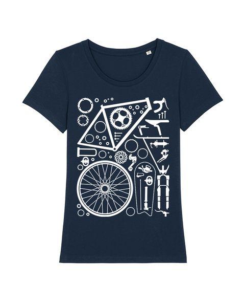 Photo of wat? Apparel bicycle parts | T-shirt women